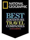 National Geographic awarded Flying Kiwi Tours as one of the best tour companies in the world.