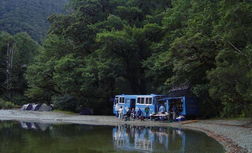 Camping at Mavora Lakes 2004 Photo taken by: Unknown