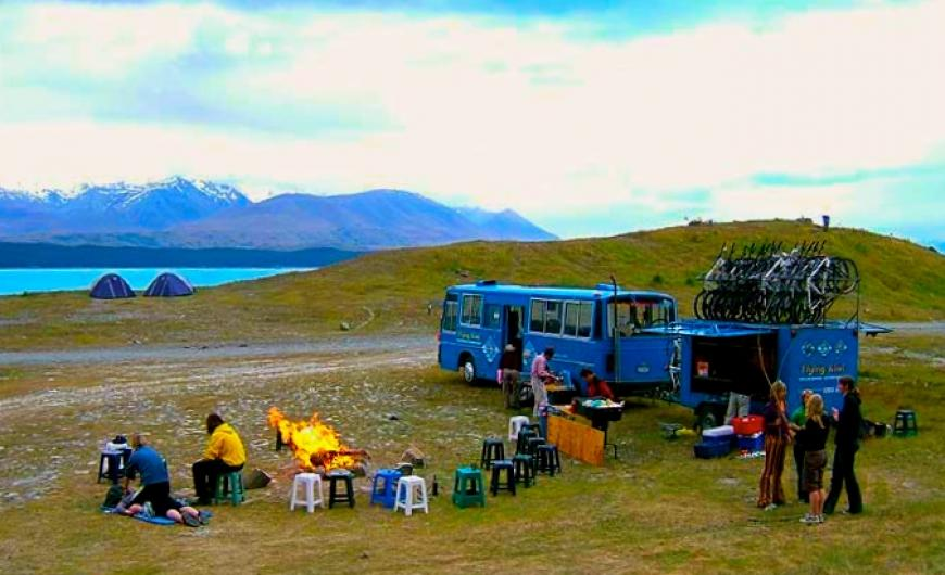 Our campsite at Lake Pukaki in 2004 Photo taken by: Unknown