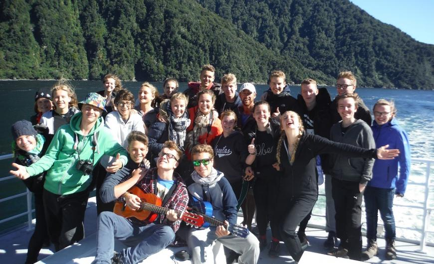 Milford Sound sing-a-long