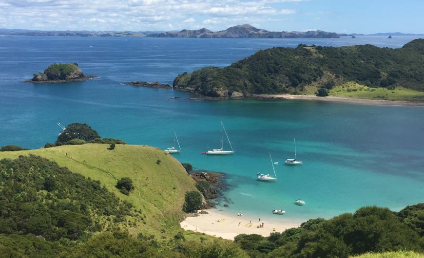 Beautiful bay of islands