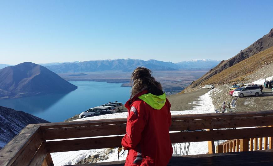 View from the Ohau ski field