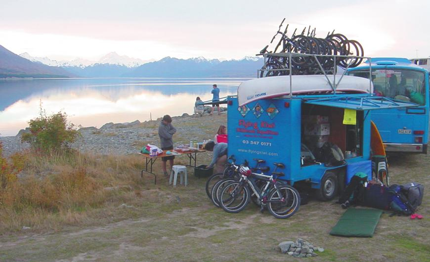 Ohau with Mount Cook in the background 2002 Photo taken by: Unknown