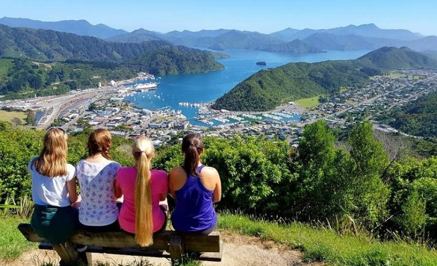 Picton Lookout Photo taken by: Annie Tsay