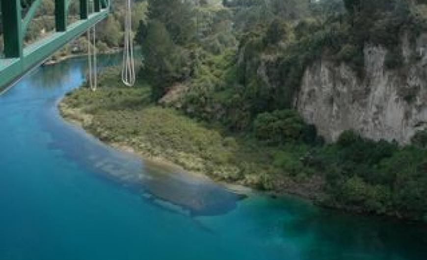 Bungy at Taupo