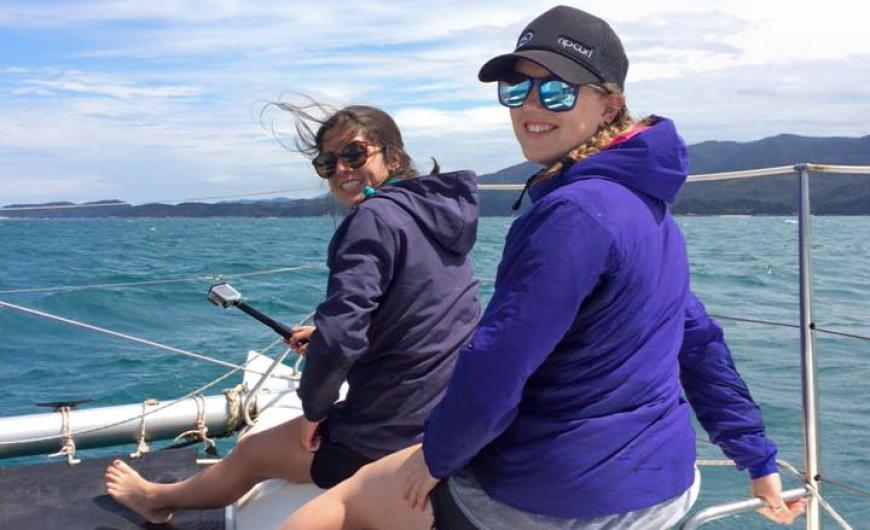 Exploring the coast with paddle power in Abel Tasman
