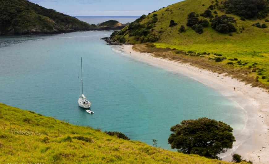Sailing the Bay of Islands