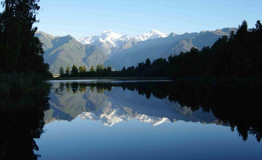 Lake Matheson hike