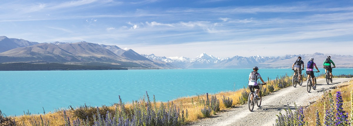 Amazing cycle rides in the South Island