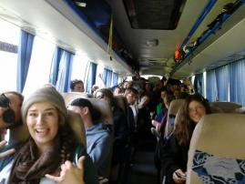 Students on tour