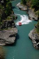 Jetboating near Queenstown