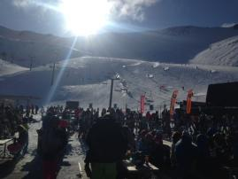 Student tour - Sunny on the slopes