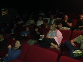New Zealand Tour - Cinema time