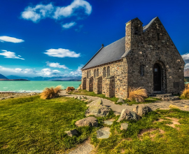 Church of Good Shepherd Lake Tekapo