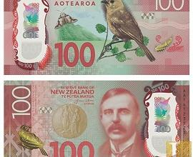 New Zealand 100 new banknote