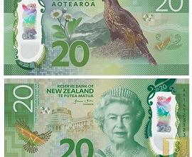 New Zealand 20 new banknote