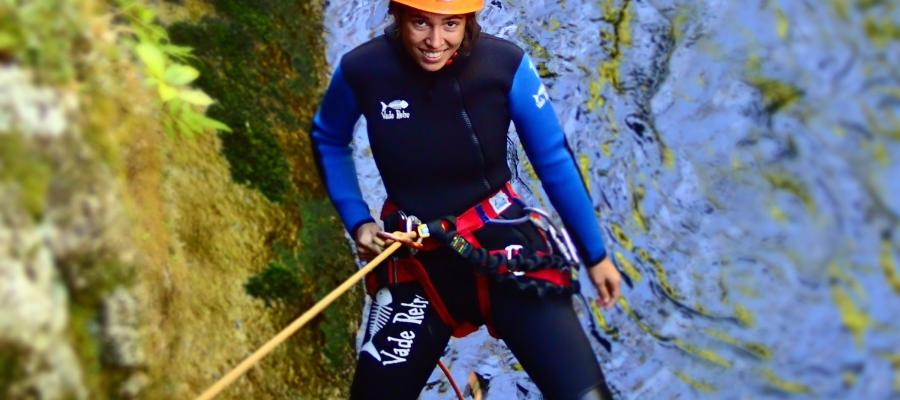 Canyoning in the Abel Tasman