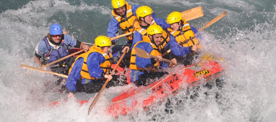 River Rafting in New Zealand