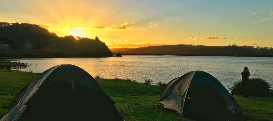 Five of our favourite camping locations