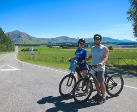 cycle in kaikoura