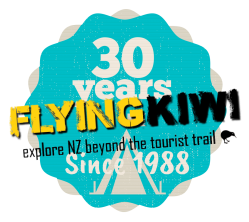 Celebrating 30 years of Flying Kiwi cycling, hiking and camping tours in New Zealand
