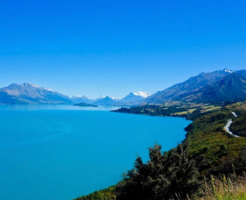 view to Glenorchy Queenstown