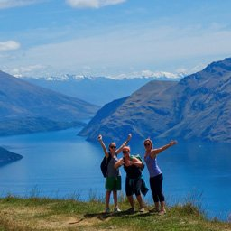 Hiking trails in New Zealand
